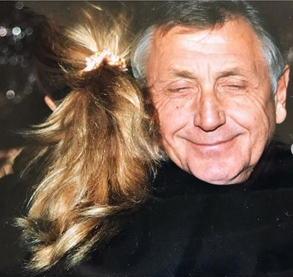 Olga sdílela vzpomínku s manželem