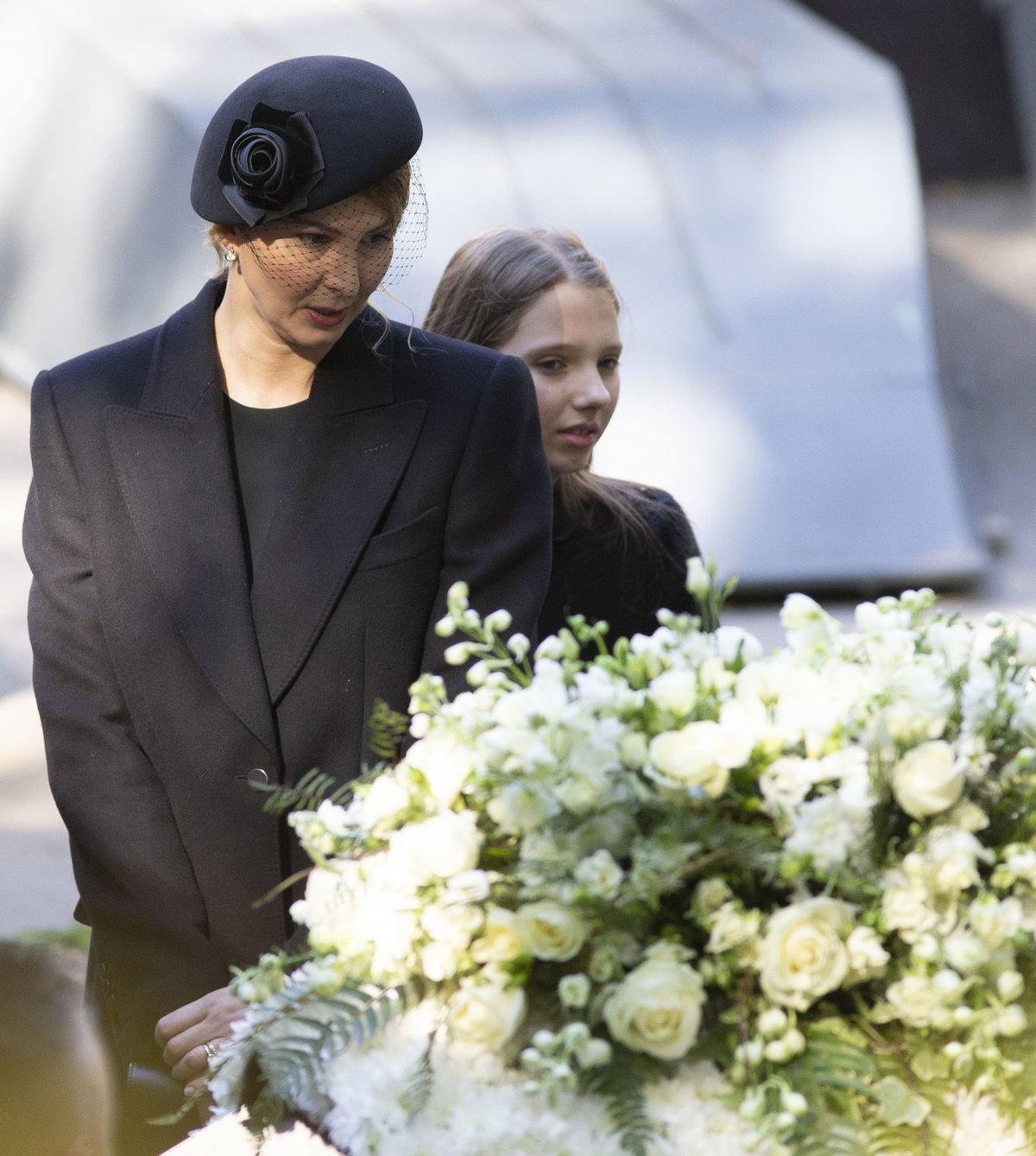 Ivana Gottová po pohřbu