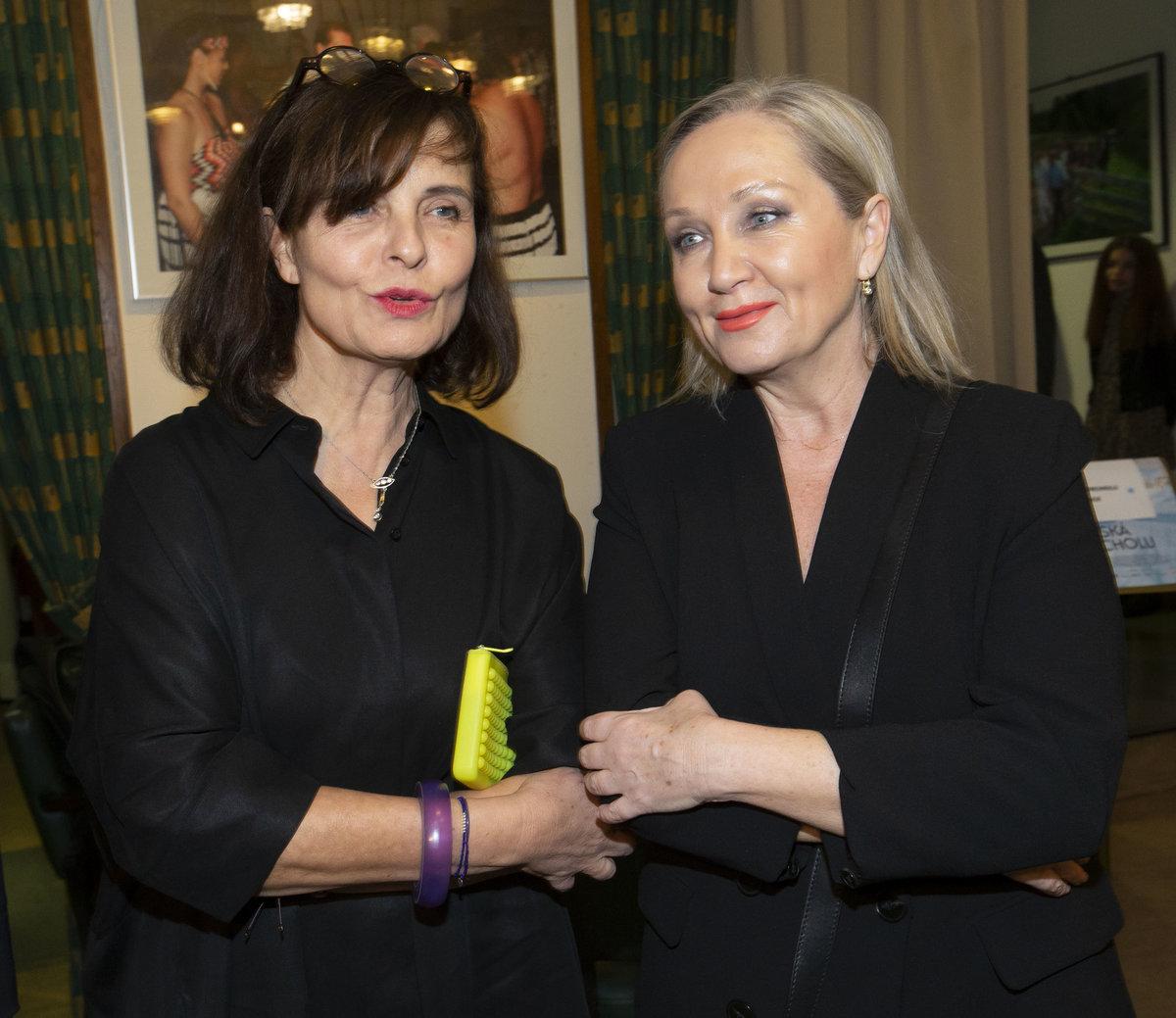 Jana Krausová s Bárou Basikovou