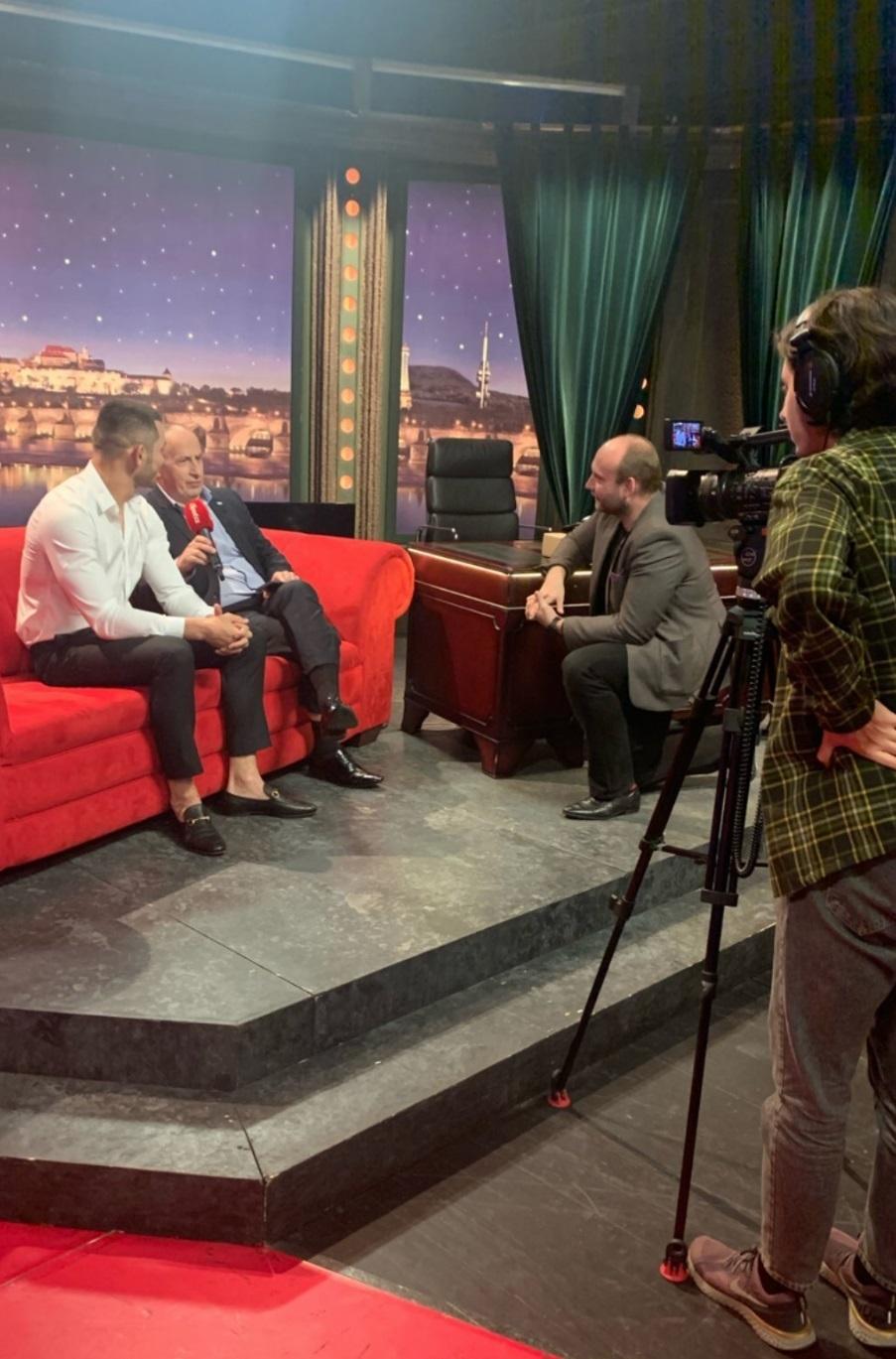 Jan Kraus s Machmudem Muradovem a speciální rozhovor pro iSport TV