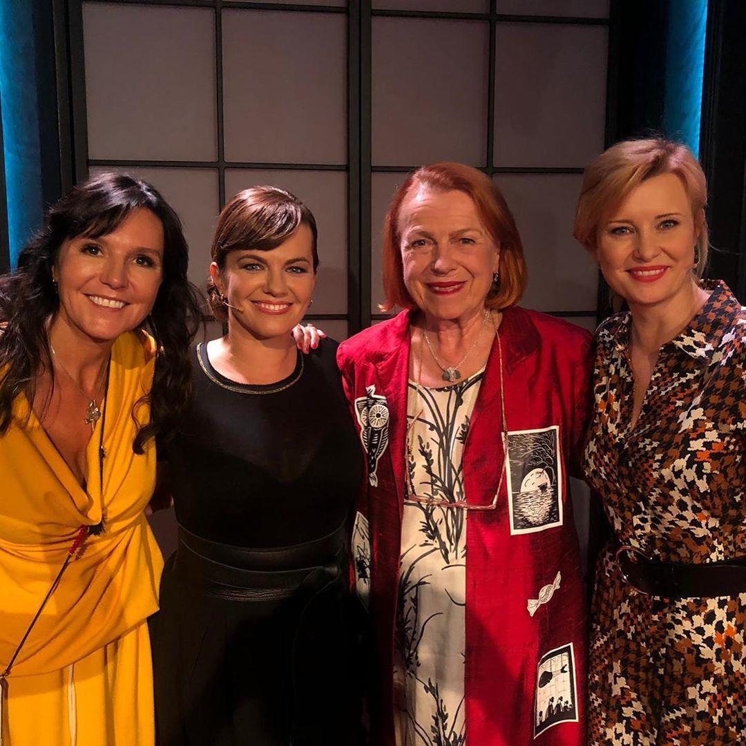 Talkshow Marta: Hvězdný host tentokrát byla Iva Janžurová a Jitka Shneiderová