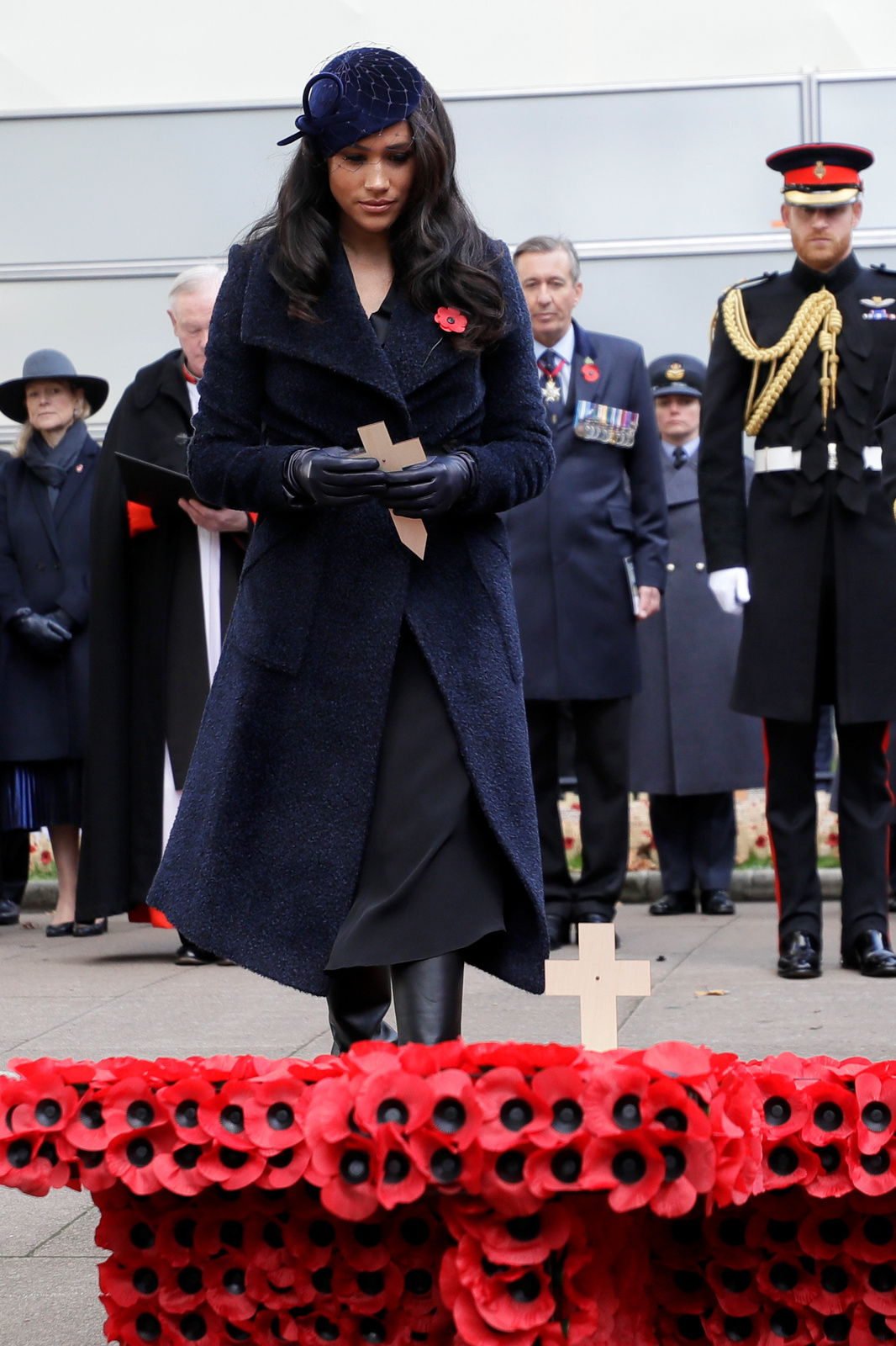 Princ Harry a Meghan Markleová vzdali hold padlým
