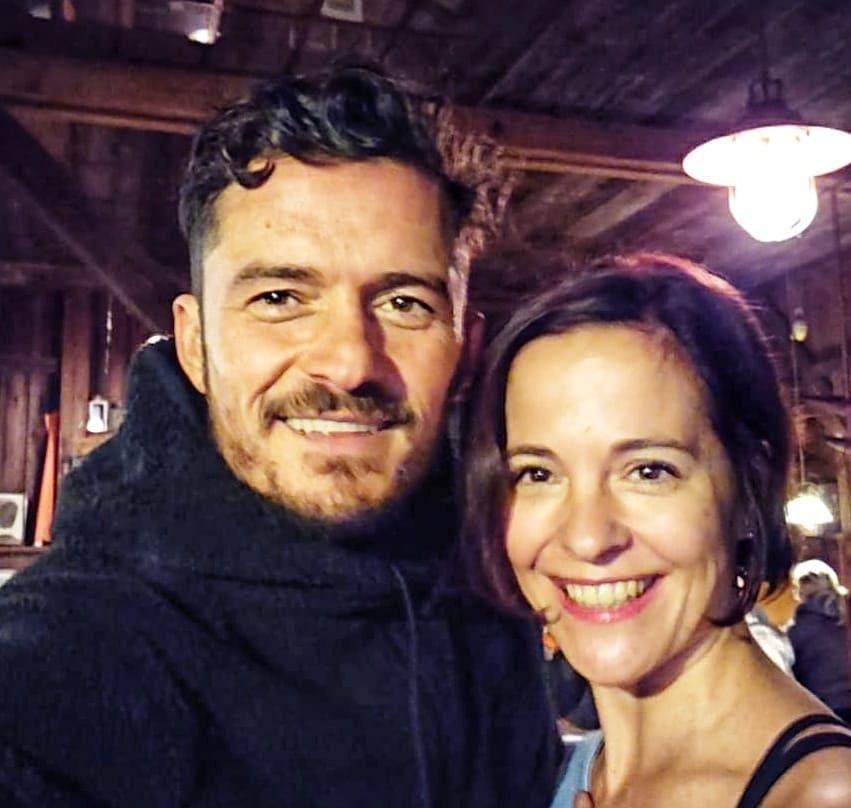 Orlando Bloom a Kristýna Janáčková