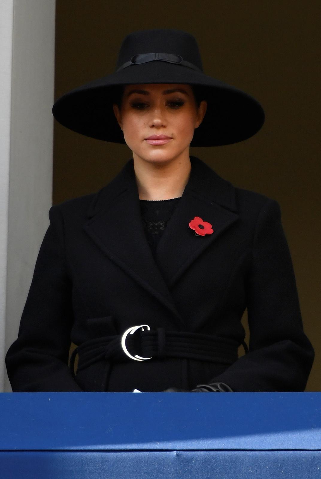 Vévodkyně Meghan na uctění památky válečných veteránů