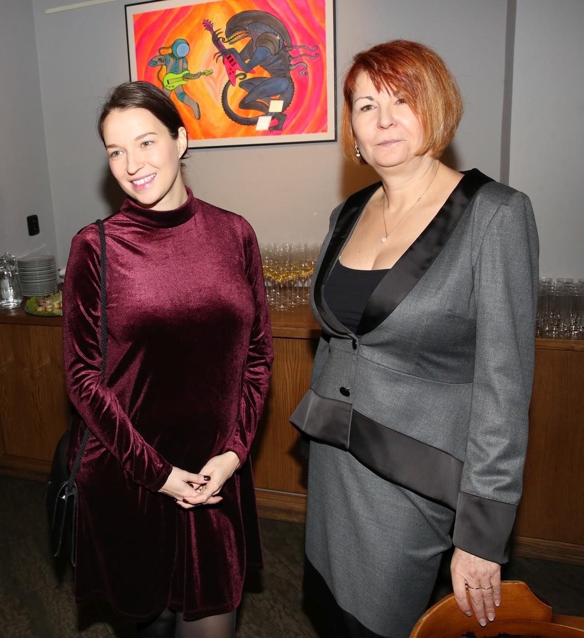 Berenika Kohoutová a Uljana Donátová
