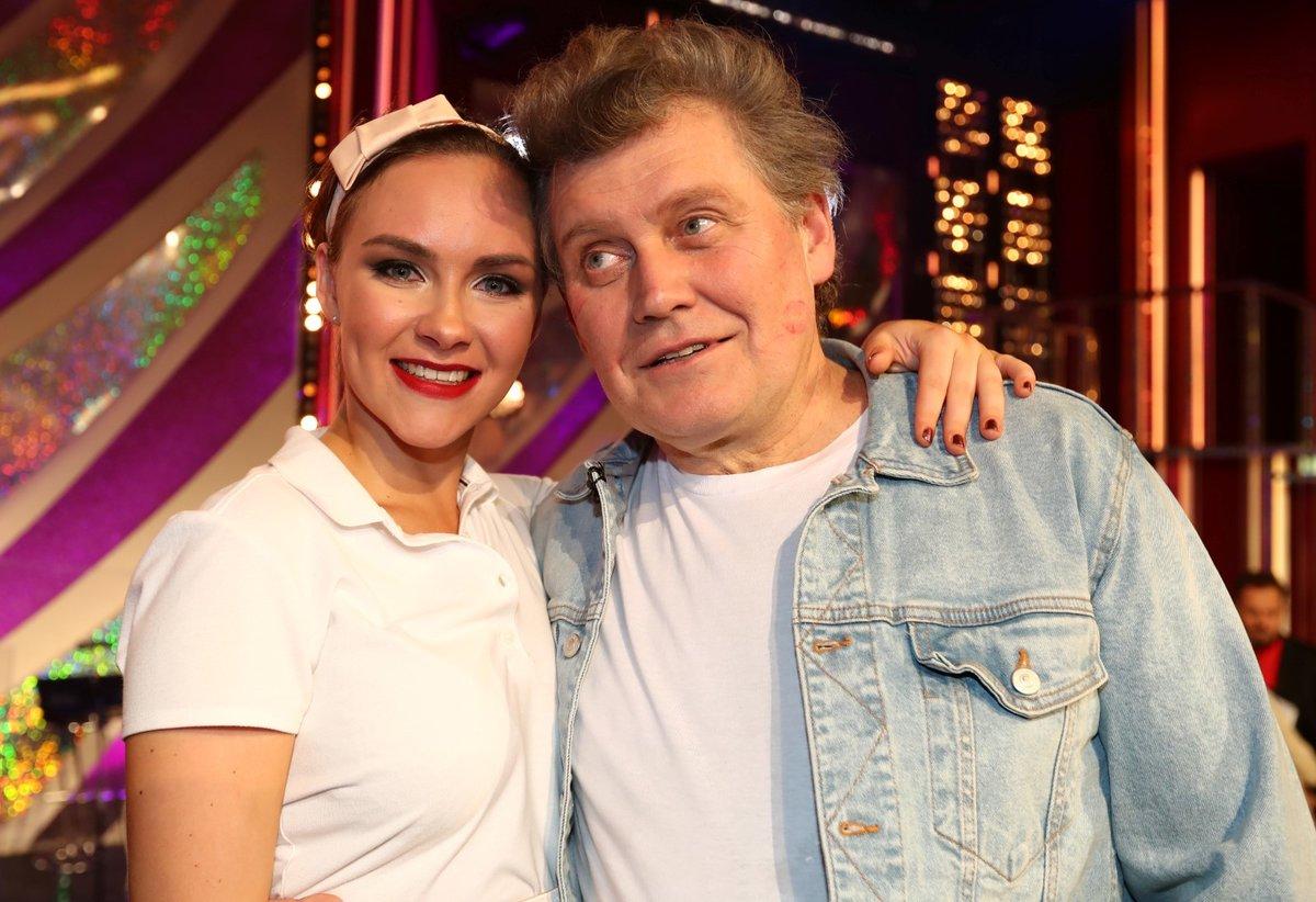 Mirek Hanuš se svou taneční partnerkou Adrianou Maškovou