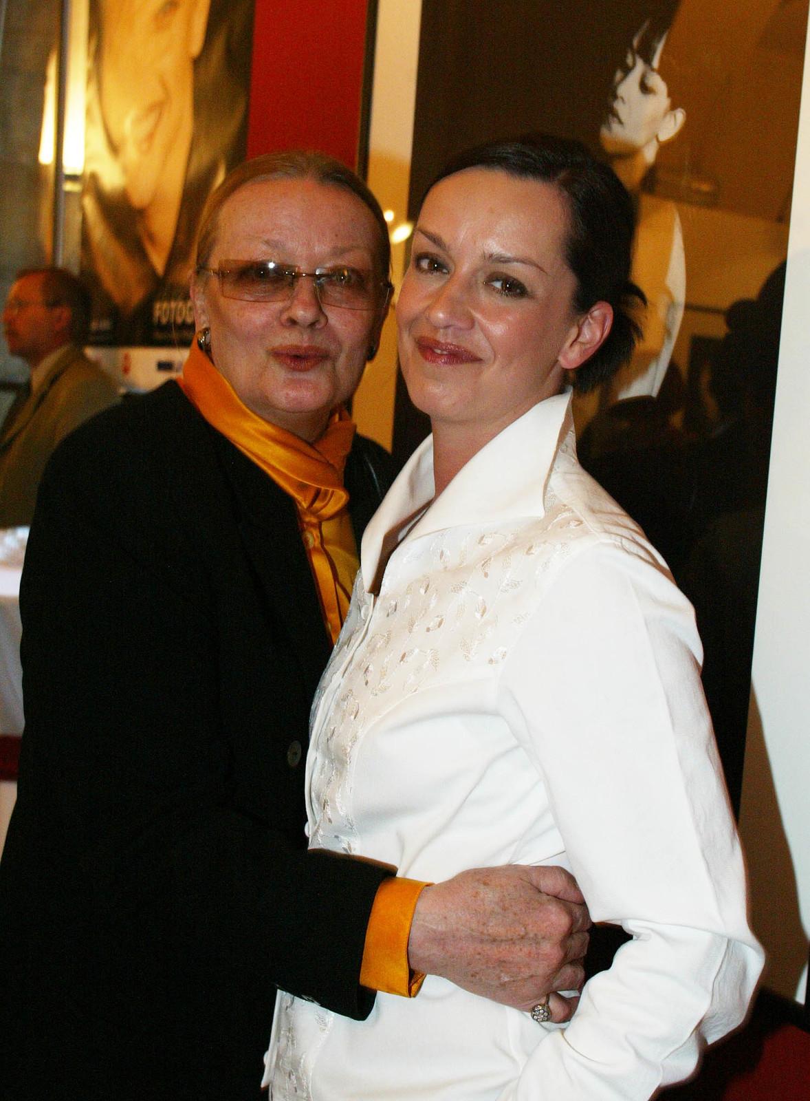 Tereza Brodská s maminkou Janou Brejchovou