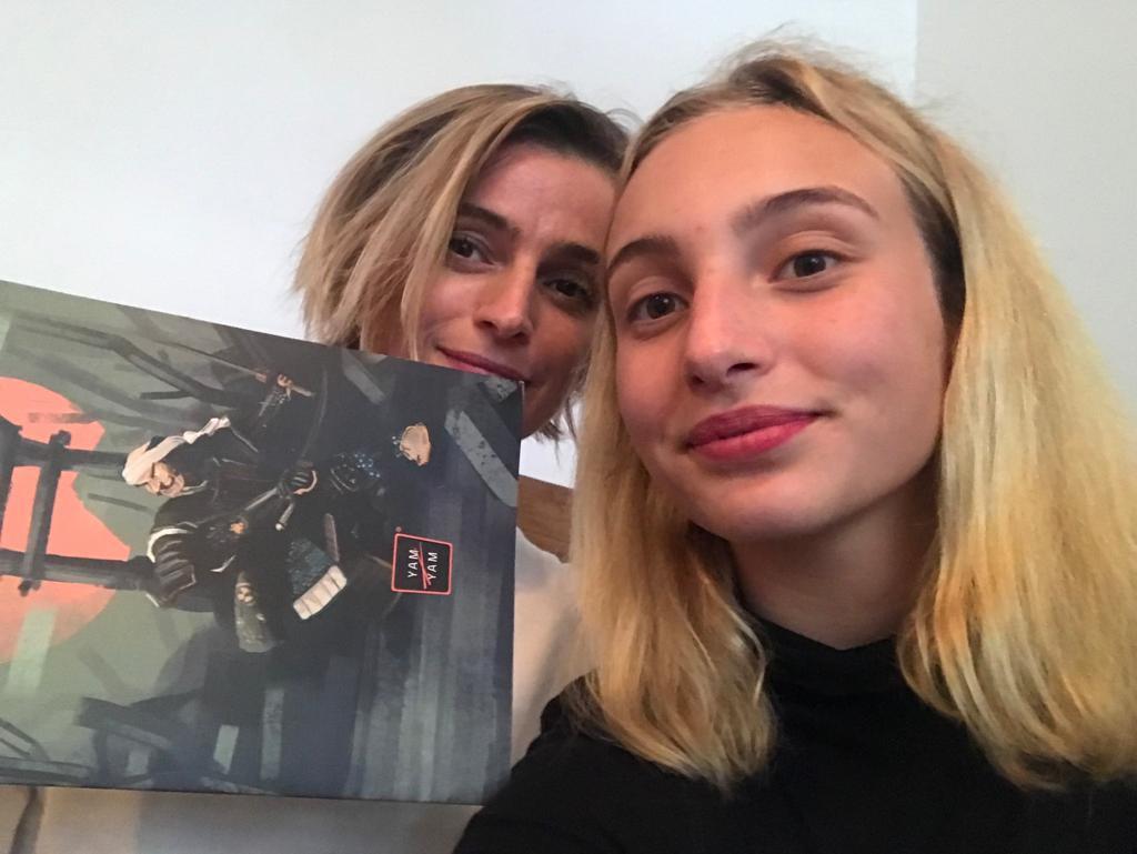 Ivana Jirešová s dcerou