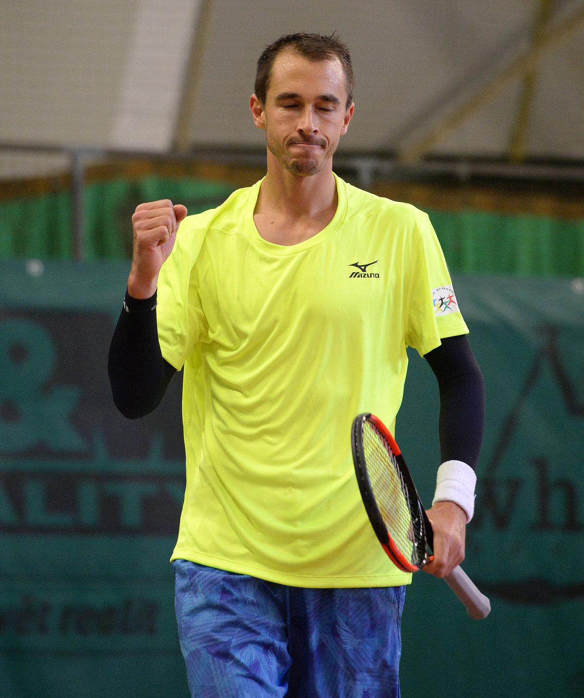Český tenista Lukáš Rosol