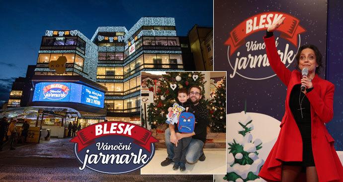 První den jarmarku Blesku! Střípky ze záhájení originálních vánočních trhů