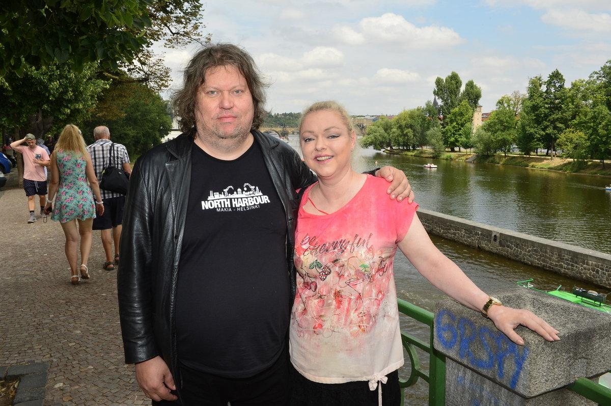 Dominika Gottová s manželem