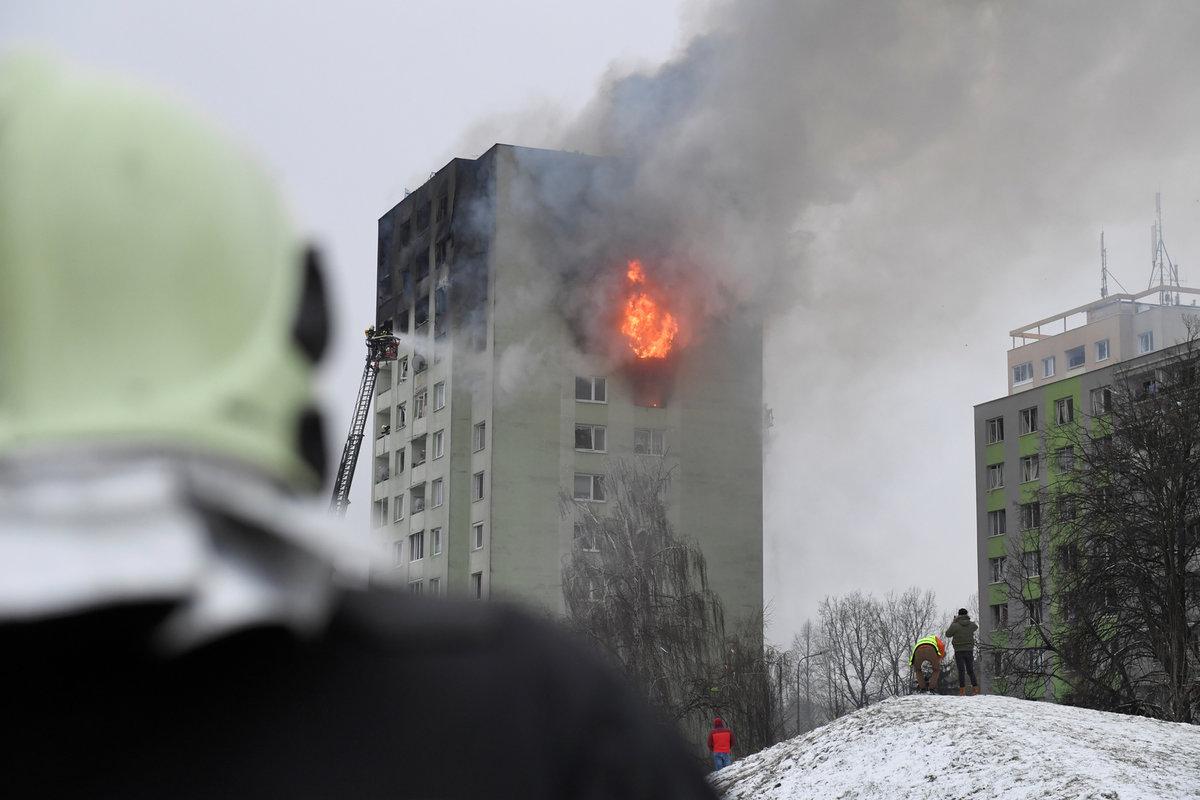 Výbuch plynu v prešovském paneláku