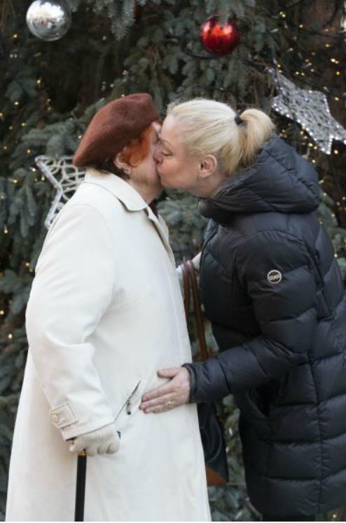 Dominika Gottová s maminkou