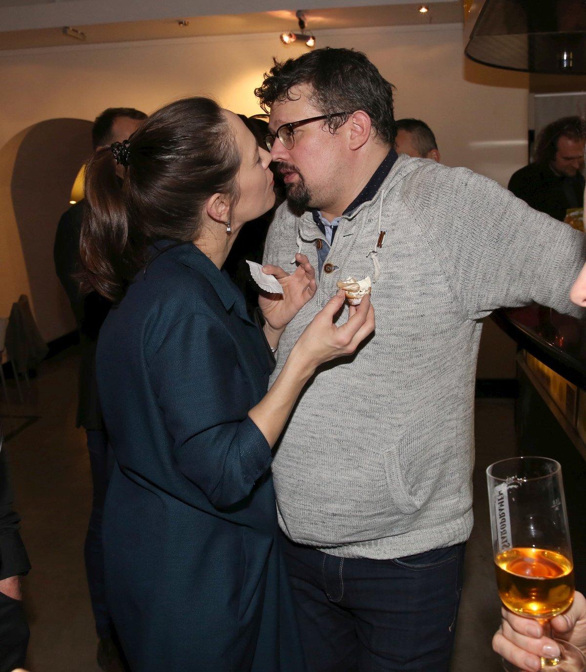 Tereza Kostková utěšovala zklamaného manžela