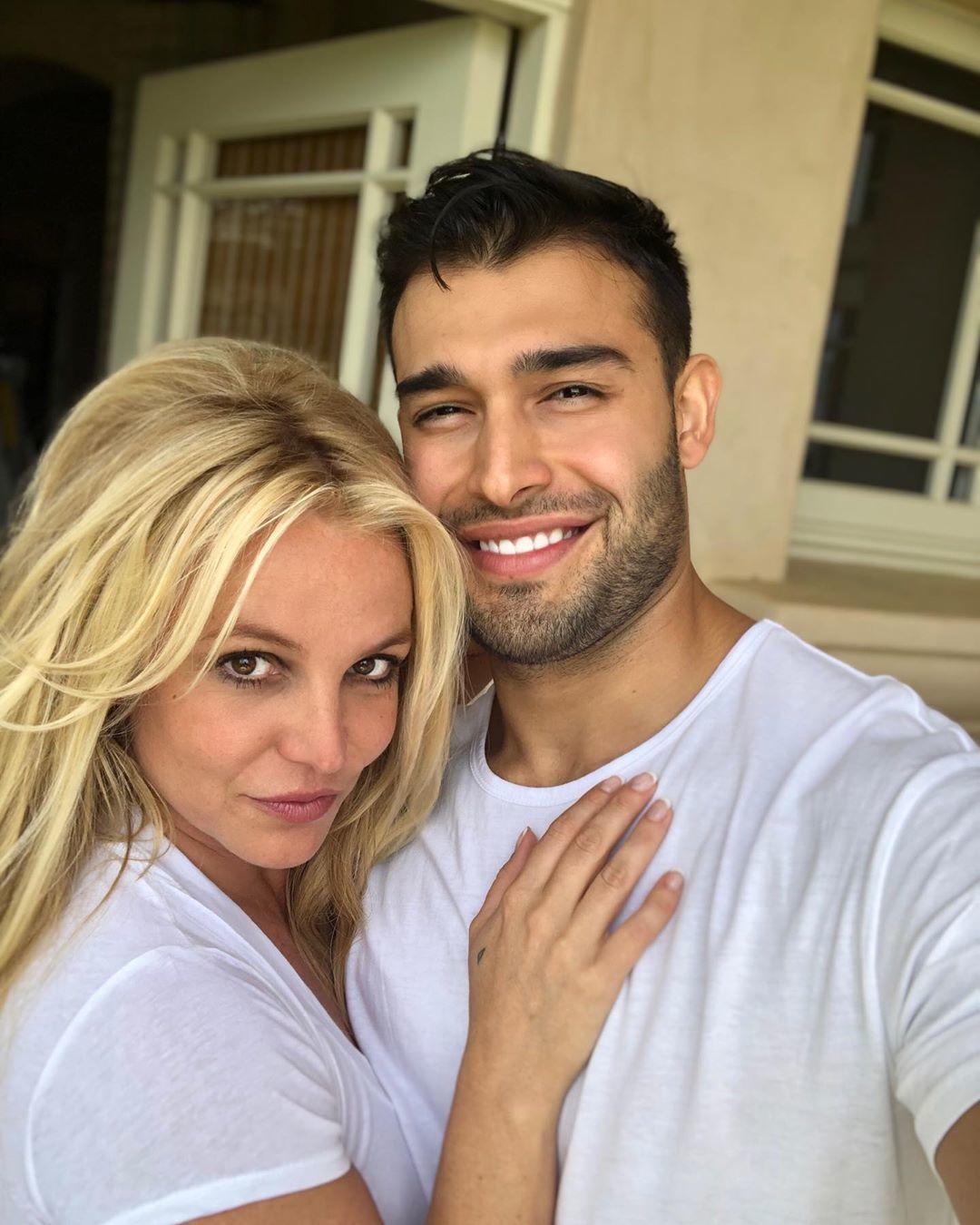 Britney a její partner Sam Asghari