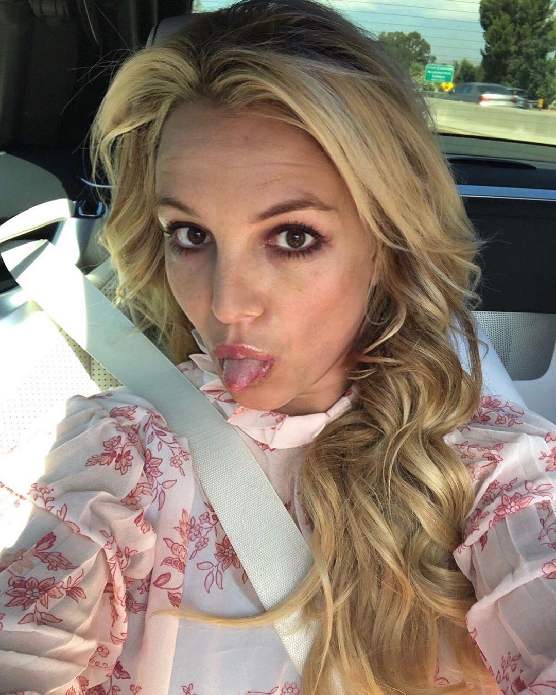 Britney Spears na instagramu