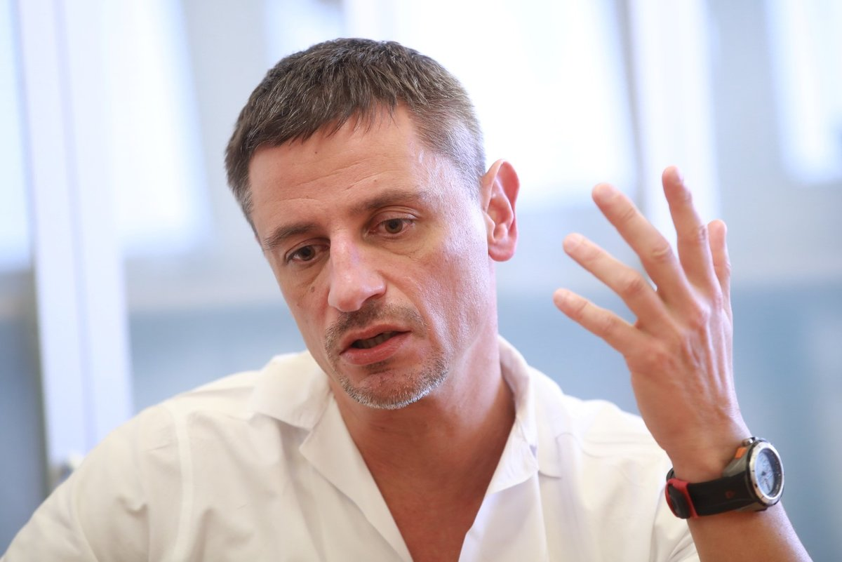 Chirurg Marcel Mitták (48) byl jedním z lékařů, kteří se snažili ve FN Ostrava zachraňovat oběti masového vraha Ctirada Vitáska (†42).