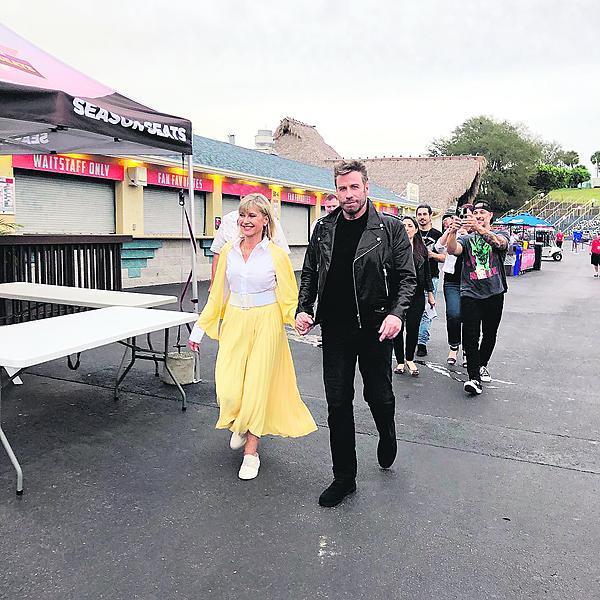 2019: Herečku potěšilo, že se do kostýmu pořád vejde.
