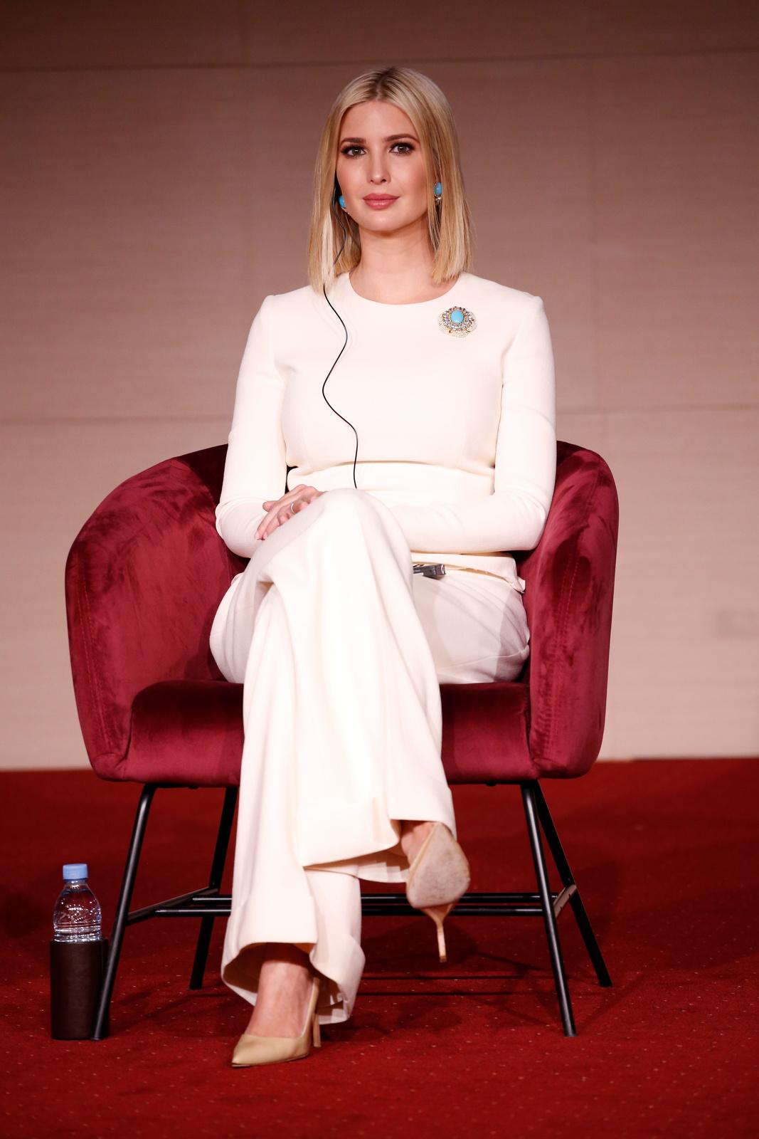 Poradkyně Bílého domu a první dcera USA Ivanka Trumpová.