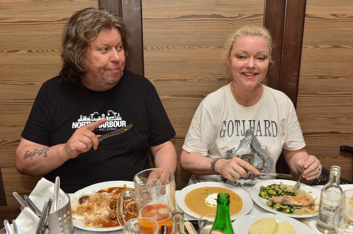 Dominika Gottová a Timo Tolkki
