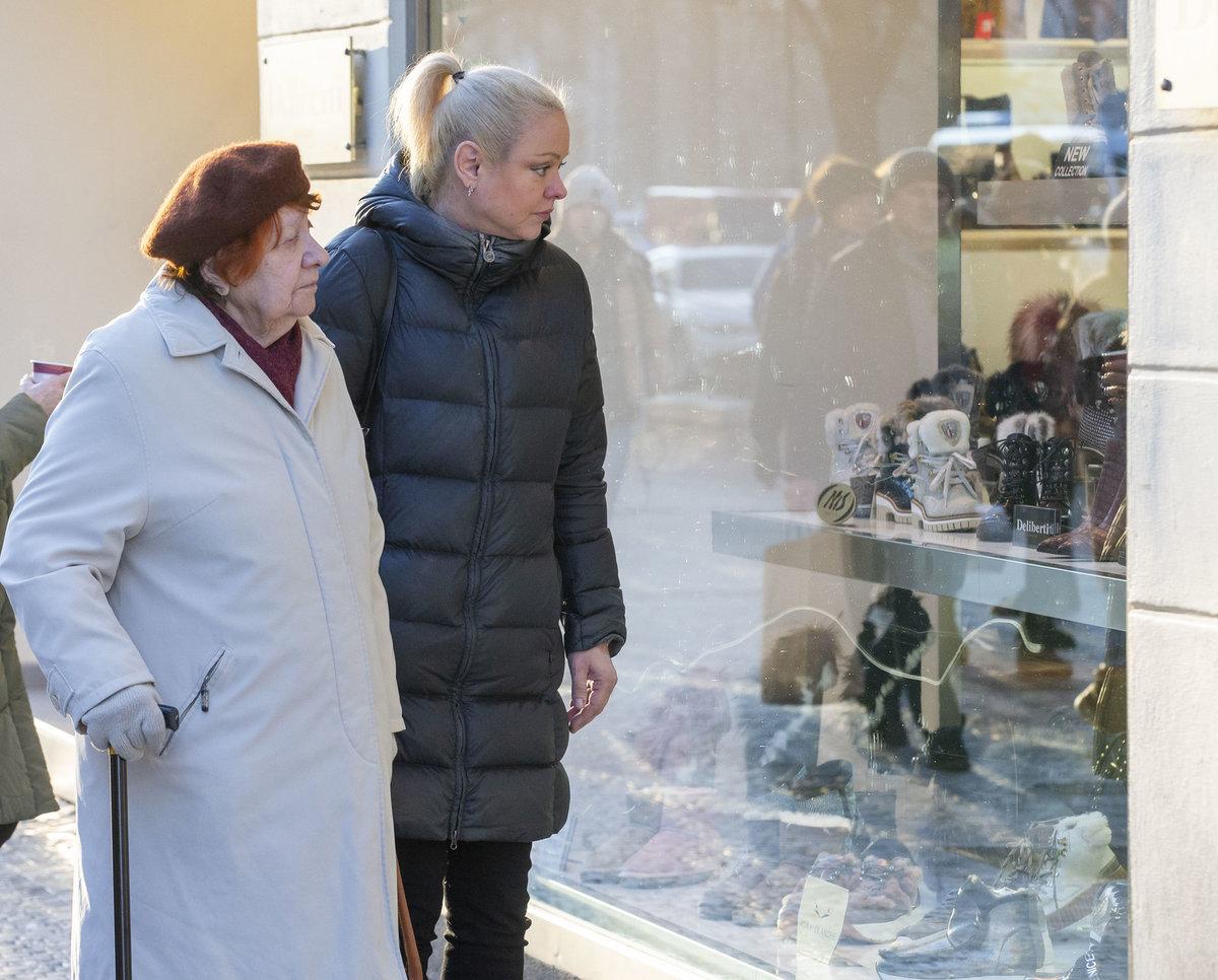 Dominika Gottová s maminkou Antonií Zacpalovou
