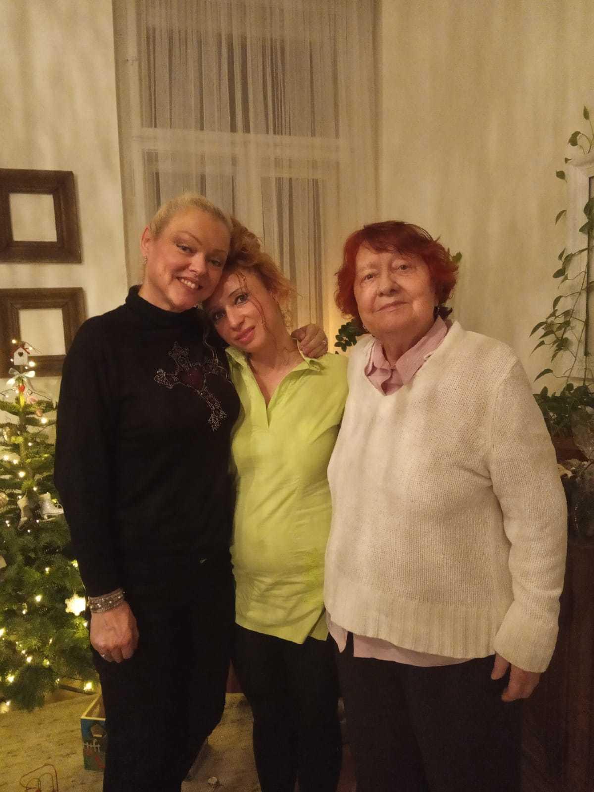 Dominika Gottová trávila Štědrý den s maminkou Antonií