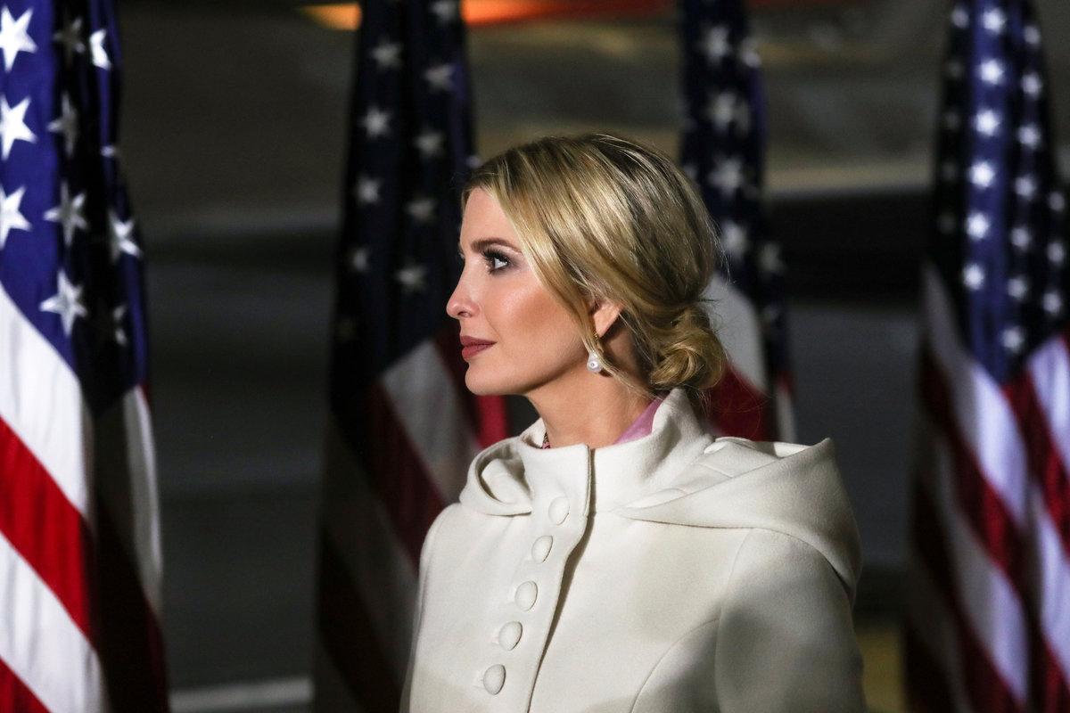 Ivanka Trumpová, dcera prezidenta USA.