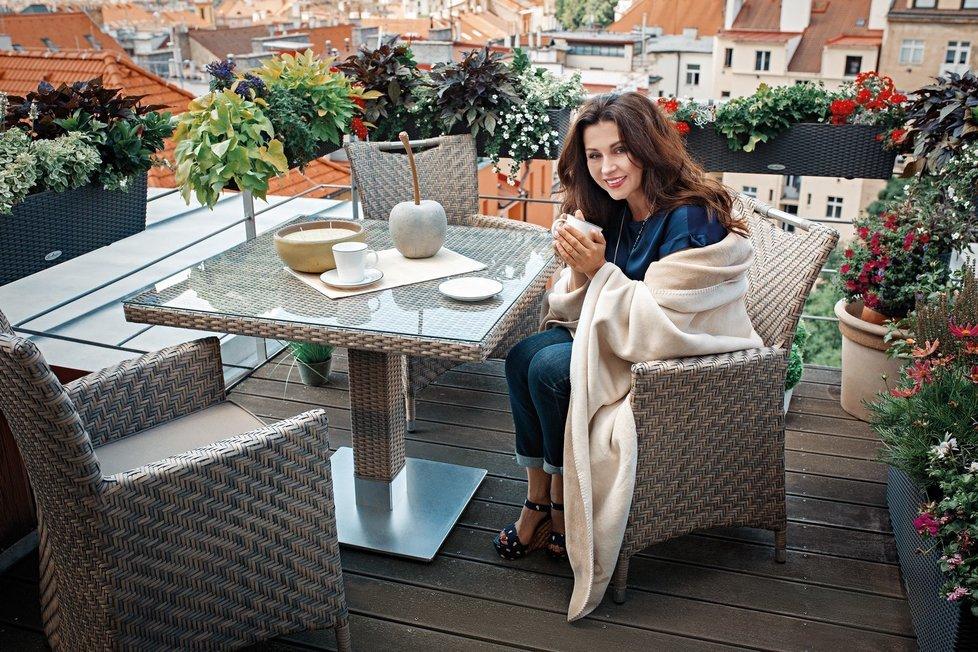 Luxusní bydlení Dany Morávkové.