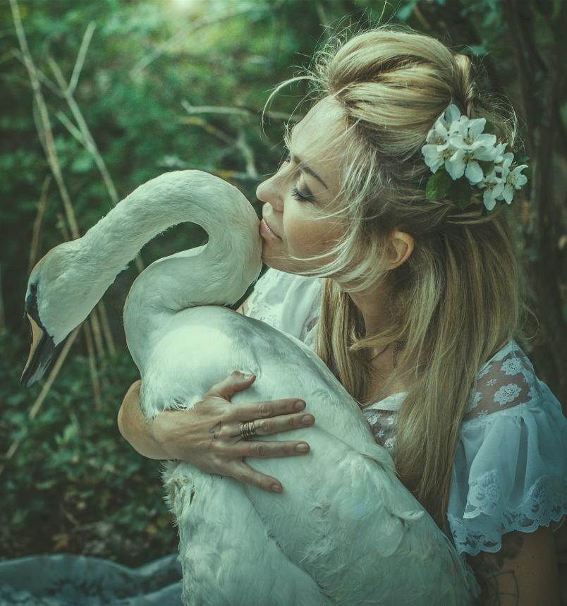 Kateřina Kaira Hrachovcová se bije za labutě