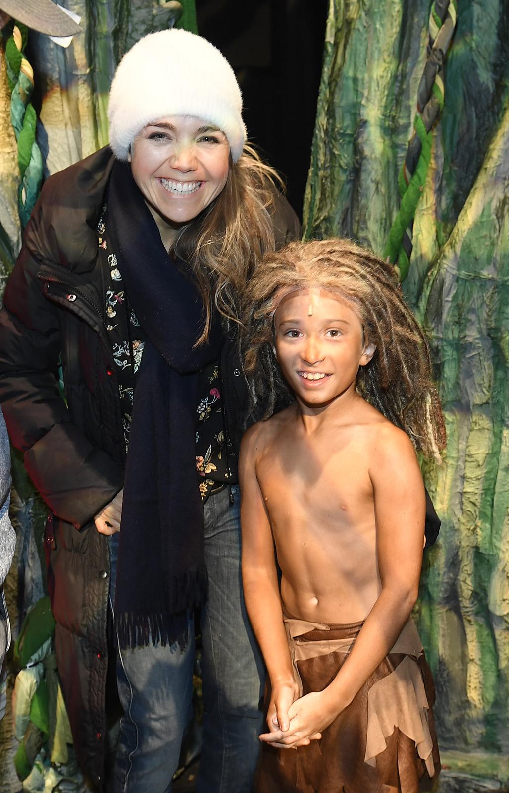 Lucie Vondráčková na muzikálu Tarzan