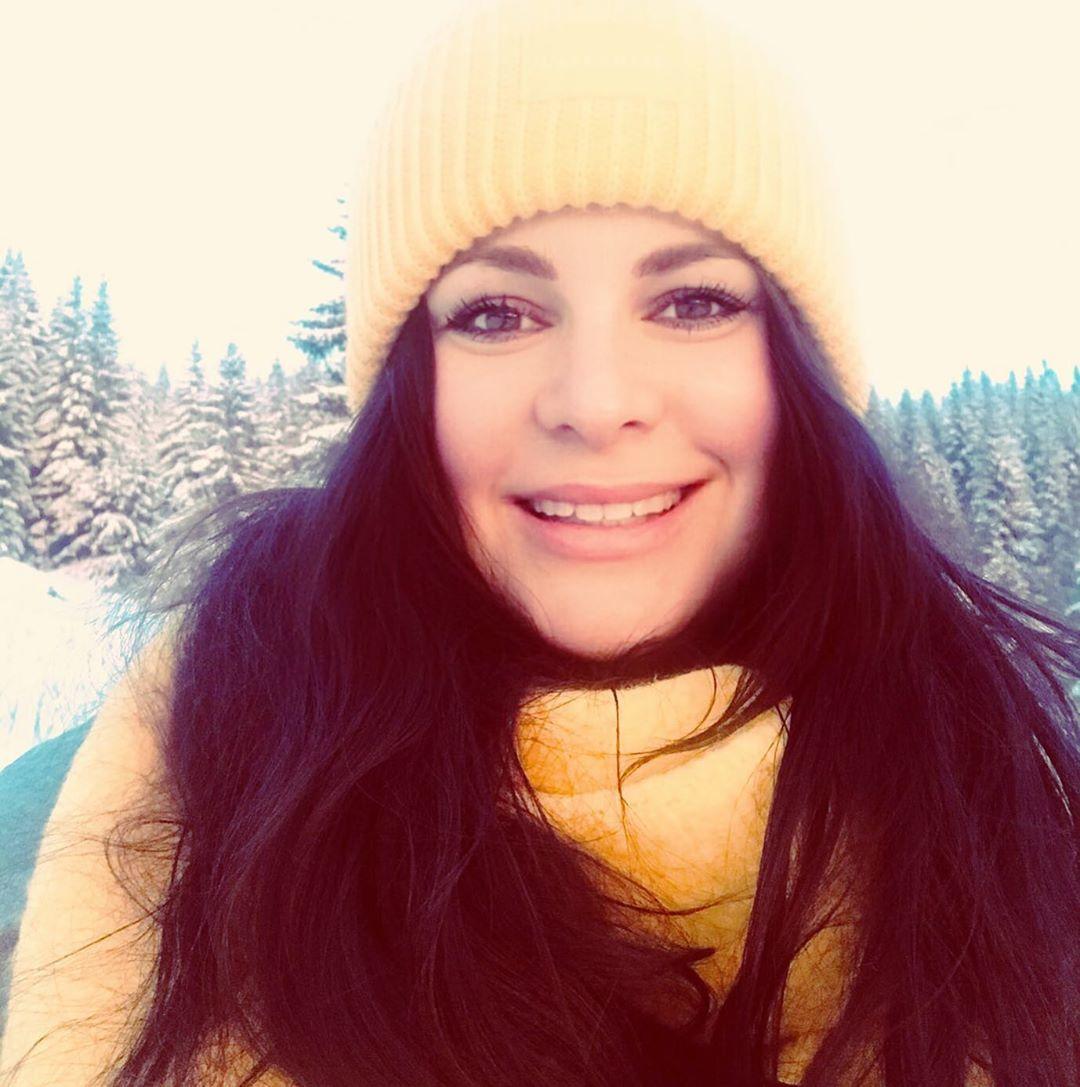Jitka Čvančarová strávila SIlvestra na horách