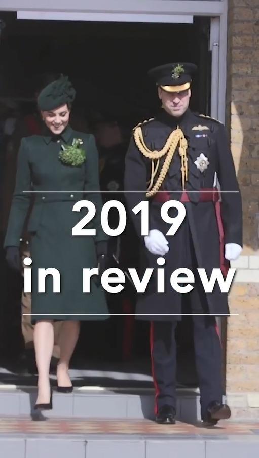 Princ William s vévodkyní Kate shrnuli svůj rok 2019