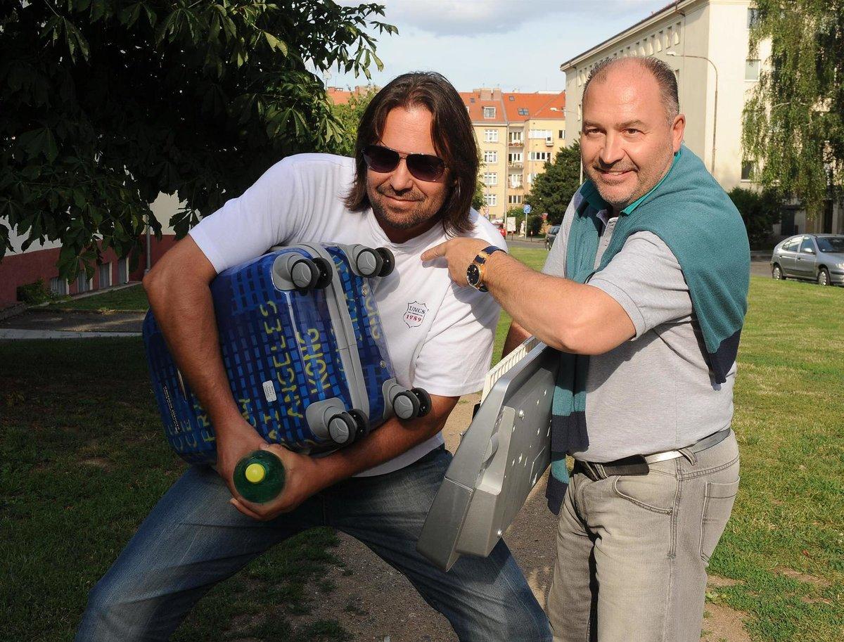 Michal David a Jiří Pomeje