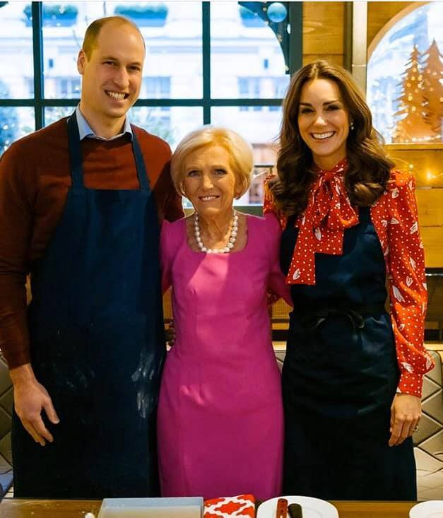 Mary Berry se setkala s Kate a Williamem