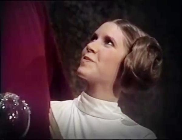 Záběry z The Star Wars Holiday Special.