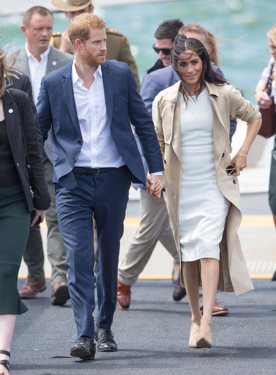 Vévodkyně Meghan a princ Harry