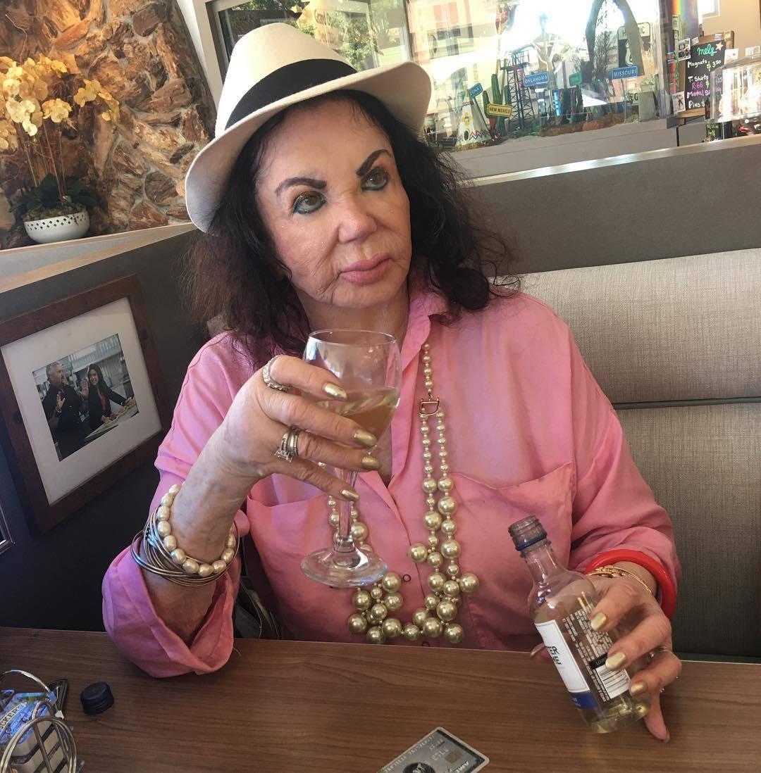 Maminka slavného Sylvestra Stalloneho Jacqueline Stallone