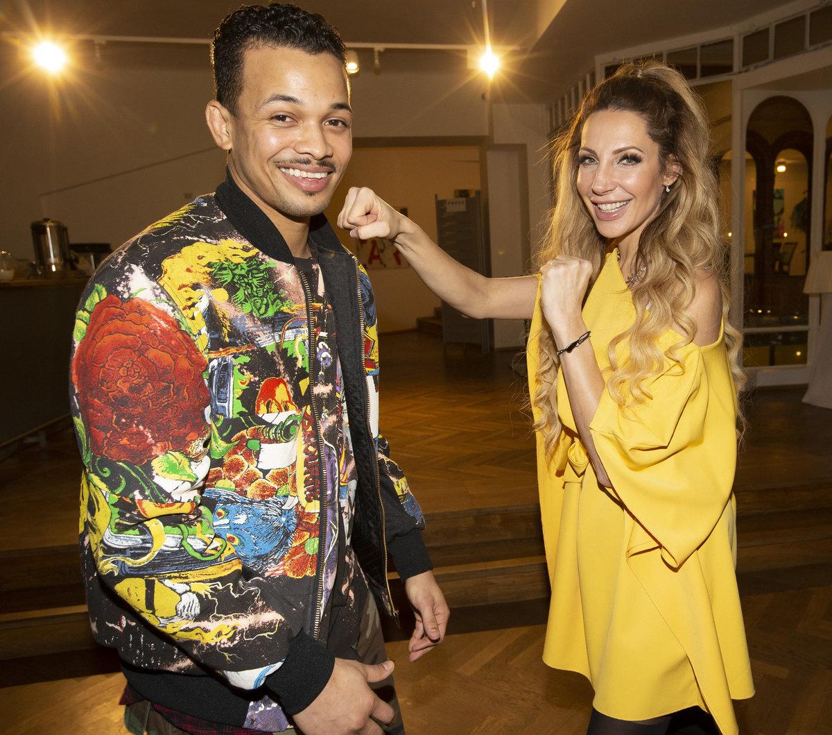 Rapper Ben Cristovao a zpěvačka Olga Lounová patří mezi favority soutěže