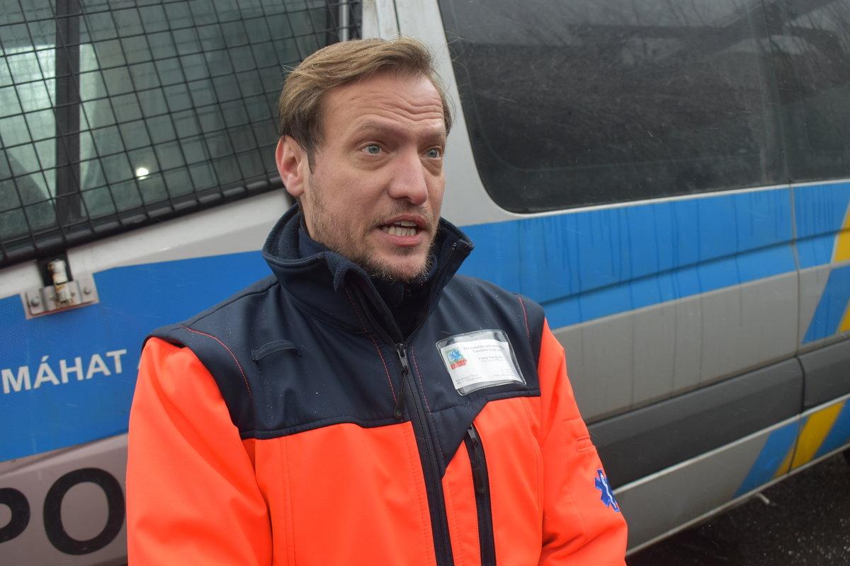 Mluvčí záchranné služby Ústeckého kraje Prokop Voleník