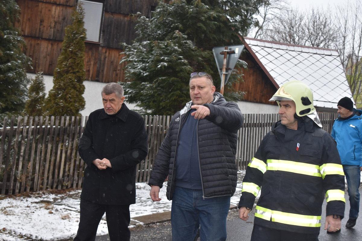 Premiér Andrej Babiš a ústecký radní Martin Klika
