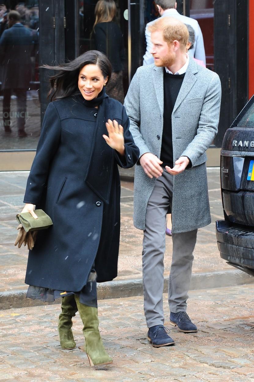 Harry s manželkou Meghan Markleovou