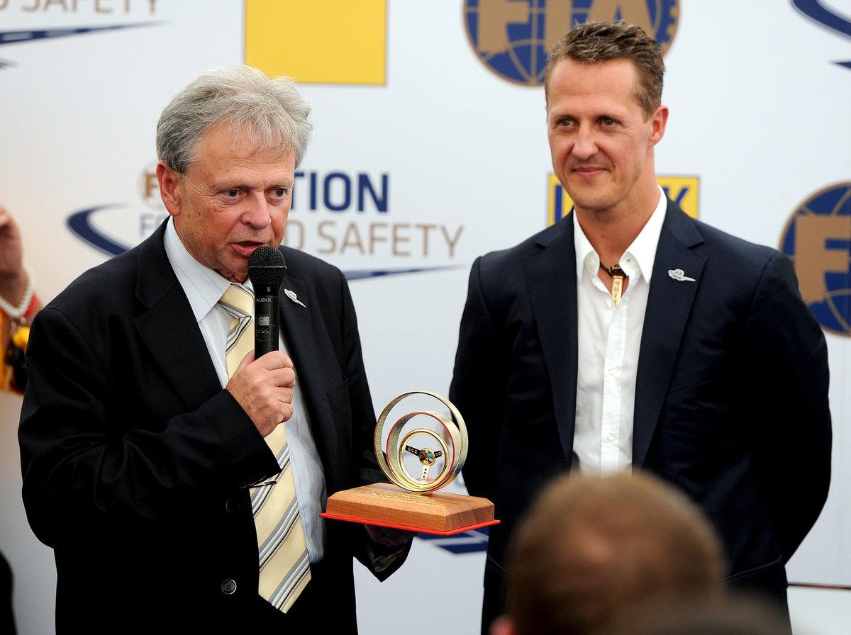 Michael Schumacher v roce 2012