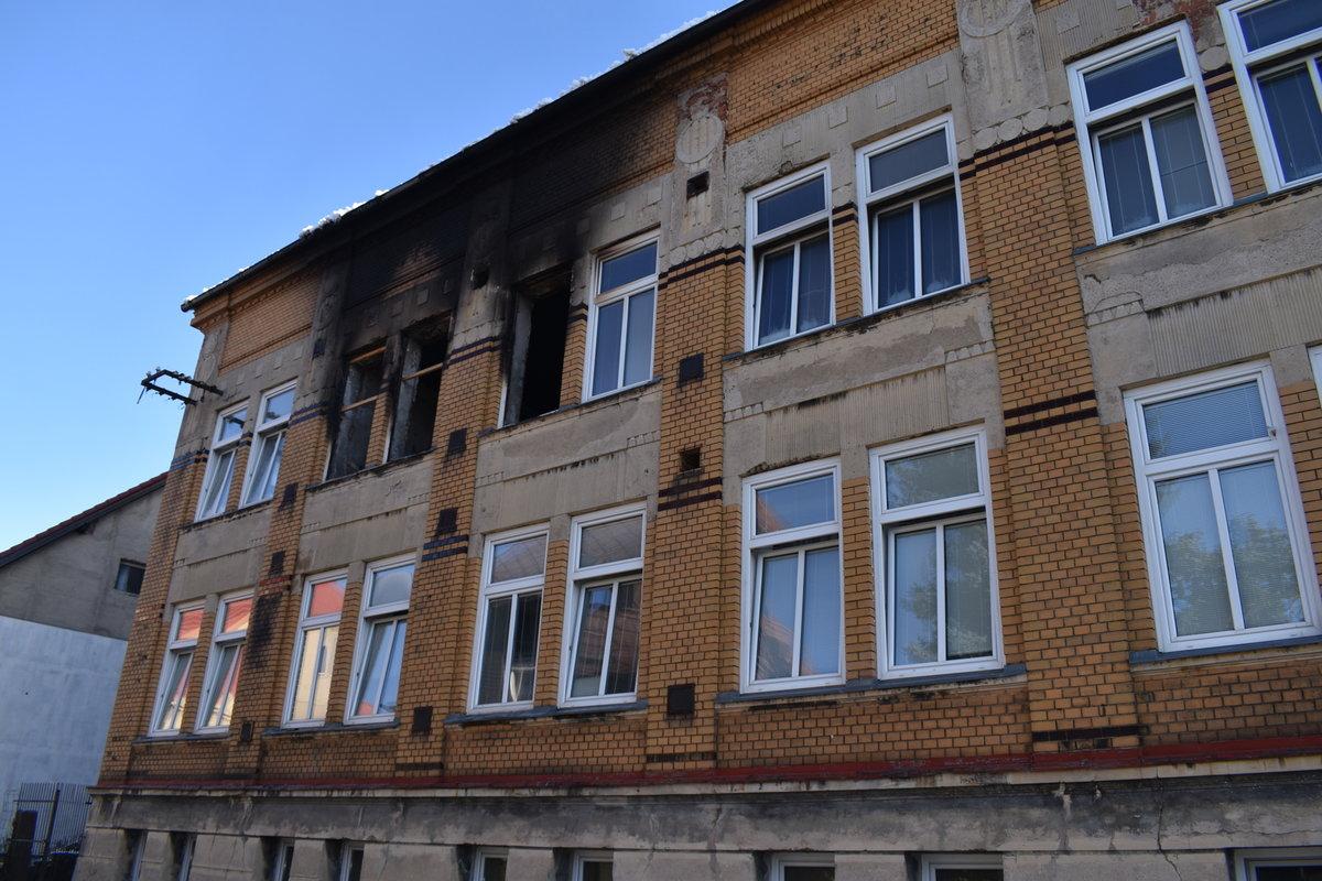 V domově hořelo domově hořelo v neděli brzy ráno.