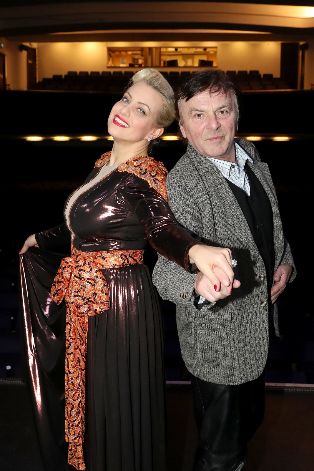 Tereza Mátlová s Pavlem Trávníčkem