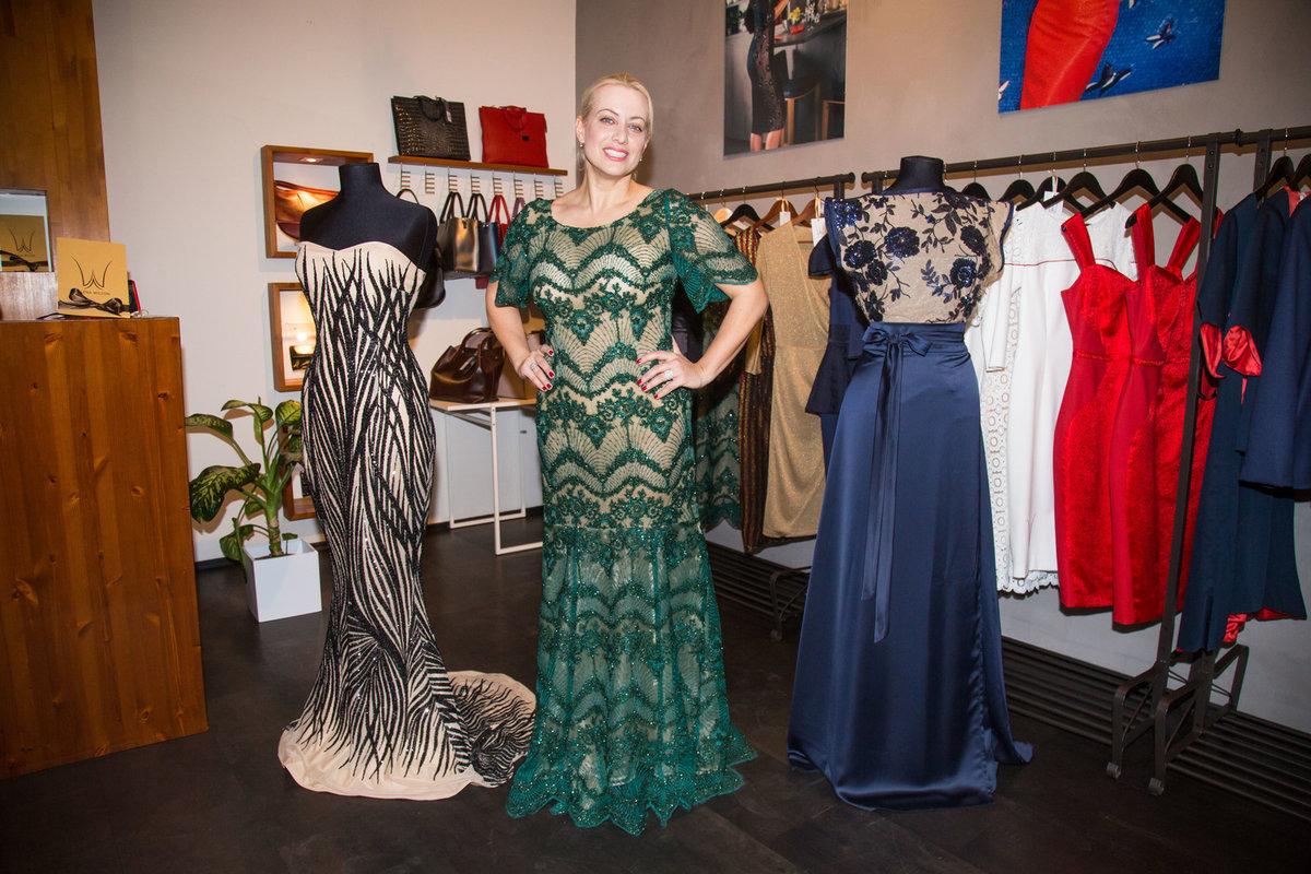 Operní diva Tereza Mátlová si vybírala šaty u Aleny Wilsonové