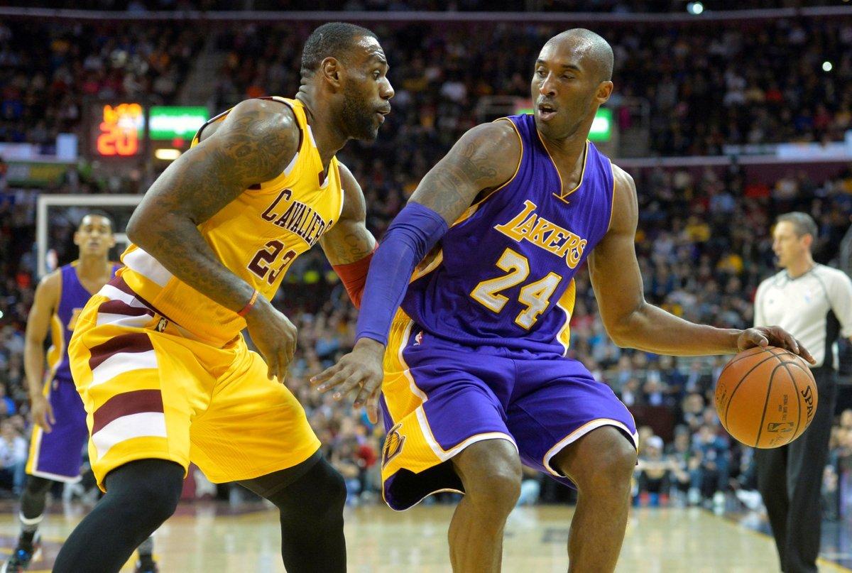 Kobe Bryant pětkrát vyhrál NBA