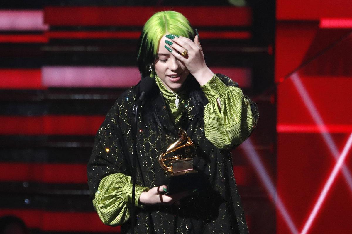 Grammy 2020: Billie Eilish