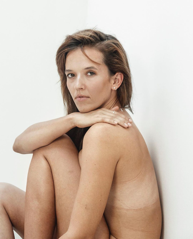Tamara Klusová nahá