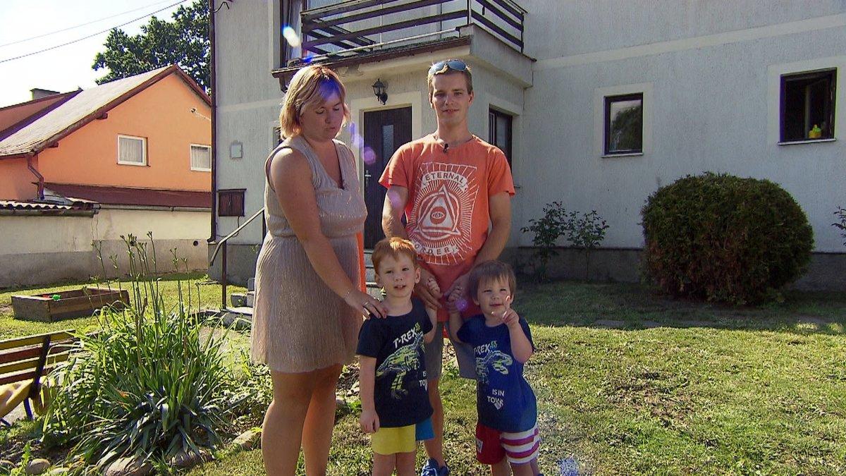 Michal, Tereza a jejich dva synové