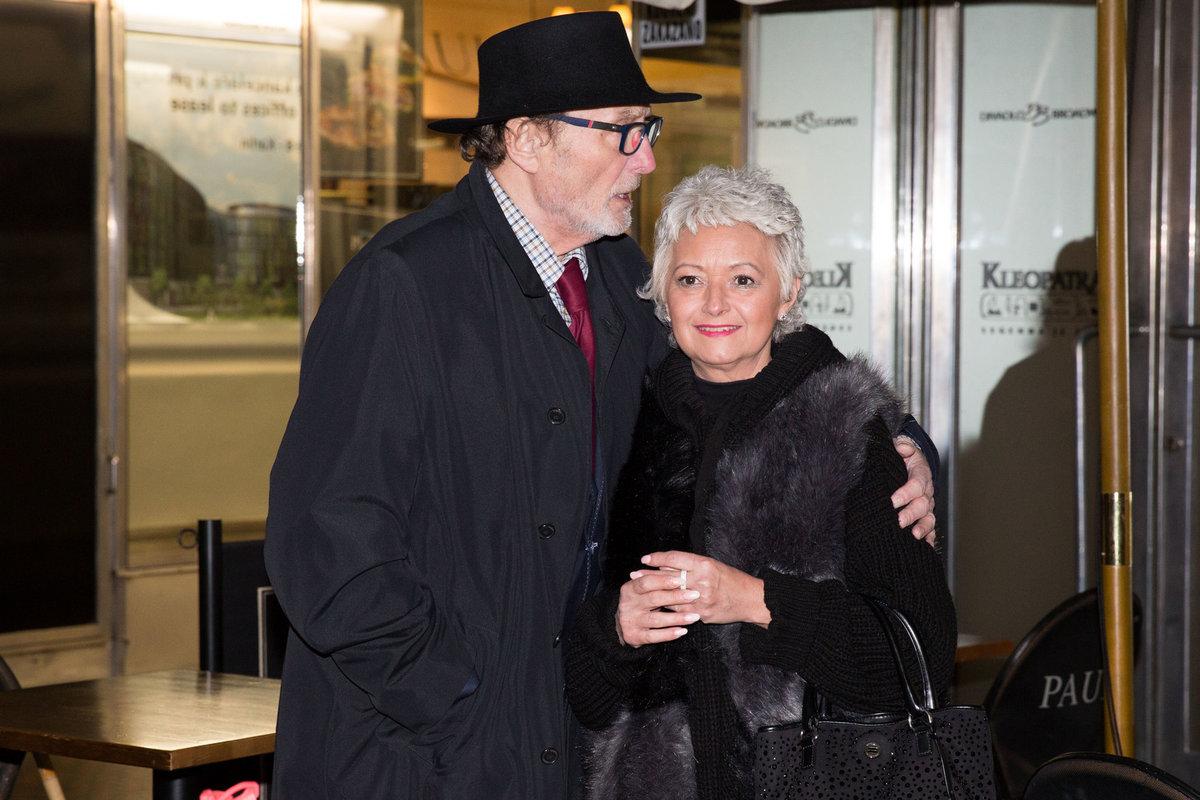 2020 - Ladislav Frej s přítelkyní Gabrielou Mrkvicovou na premiéře muzikálu Zasněžená romance